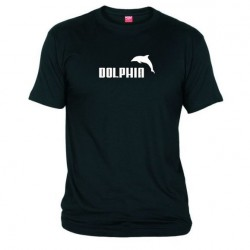 Pánské tričko Dolphin černé