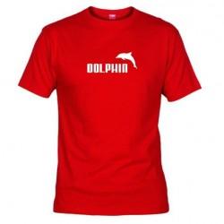 Pánské tričko Dolphin červené