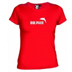 Dámské tričko Dolphin červené