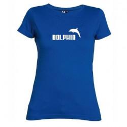 Dámské tričko Dolphin modré