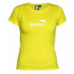 Dámské tričko Dolphin žluté