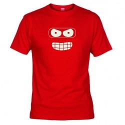 Pánské tričko Futurama červené