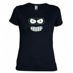 Dámské tričko Futurama černé