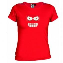 Dámské tričko Futurama červené