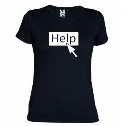 Dámské tričko Help černé