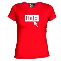 Dámské tričko Help červené