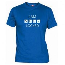 Pánské tričko I am sherlocked modré