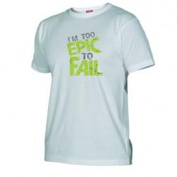 Pánské tričko I am to epic to fail bílé