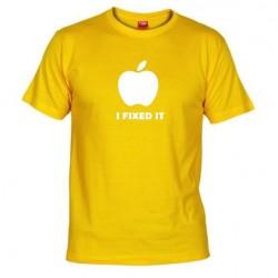 Pánské tričko I fixed it žluté