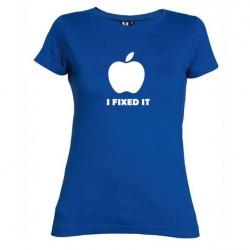 Dámské tričko I fixed it modré