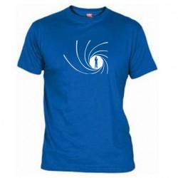Pánské tričko James Bond modré
