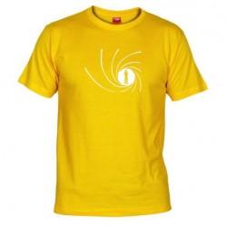 Pánské tričko James Bond žluté