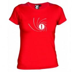Dámské tričko James Bond červené