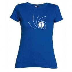 Dámské tričko James Bond modré