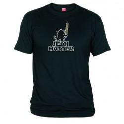 Pánské tričko Jedi master černé