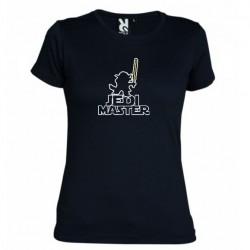 Dámské tričko Jedi master černé