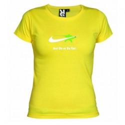 Dámské tričko Just do or do not žluté