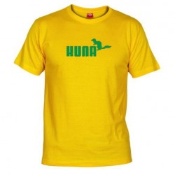 Pánské tričko Kuna žluté