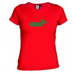 Dámské tričko Kuna červené