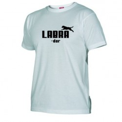 Pánské tričko Labrador bílé