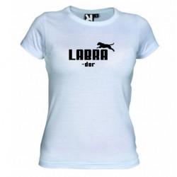 Dámské tričko Labrador bílé