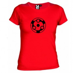 Dámské tričko Mangekyou Sharingan Madara červené