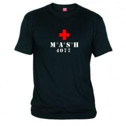 Pánské tričko MASH černé