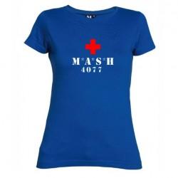 Dámské tričko MASH modré