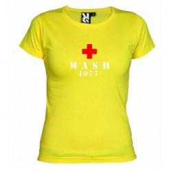 Dámské tričko MASH žluté