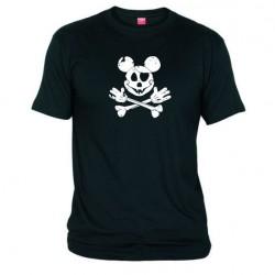 Pánské tričko Mickey mouse černé