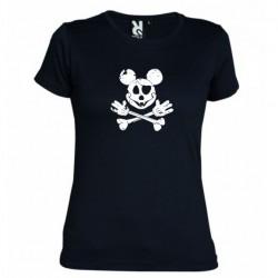 Dámské tričko Mickey mouse černé