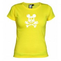 Dámské tričko Mickey mouse žluté