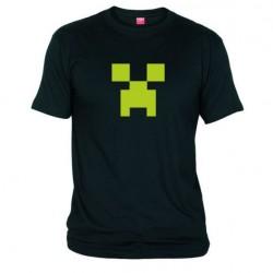 Pánské tričko Minecraft černé