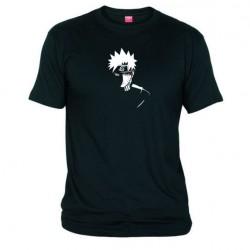 Pánské tričko Naruto Uzumaki sage mod černé