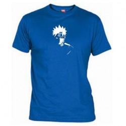 Pánské tričko Naruto Uzumaki sage mod modré