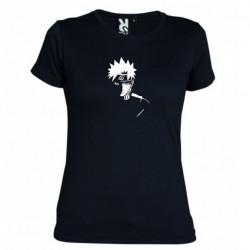 Dámské tričko Naruto Uzumaki sage mod černé