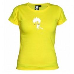 Dámské tričko Naruto Uzumaki sage mod žluté
