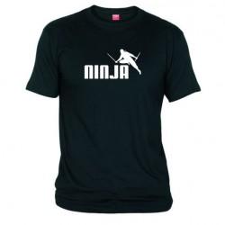 Pánské tričko Ninja černé