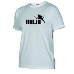 Pánské tričko Ninja bílé