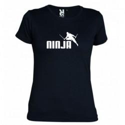 Dámské tričko Ninja černé