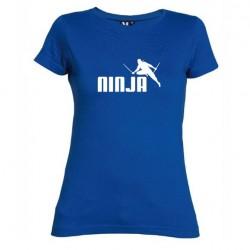 Dámské tričko Ninja modré