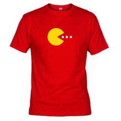 Pánské tričko Pacman červené