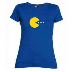 Dámské tričko Pacman modré