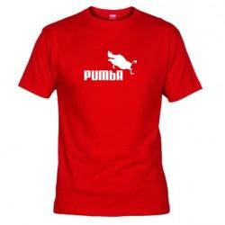 Pánské tričko Pumba červené