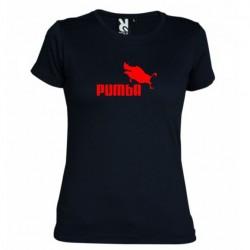 Dámské tričko Pumba černé