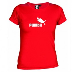 Dámské tričko Pumba červené