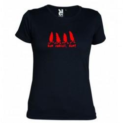 Dámské tričko Run Forest run černé