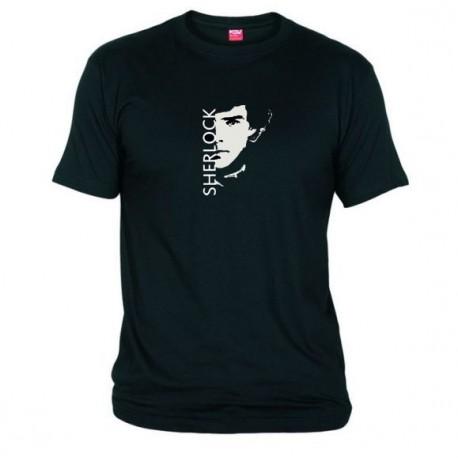 Pánské tričko Sherlock černé