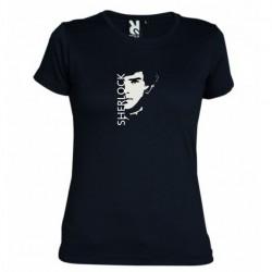Dámské tričko Sherlock černé