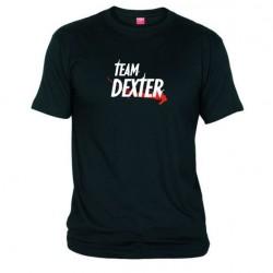 Pánské tričko Team Dexter černé